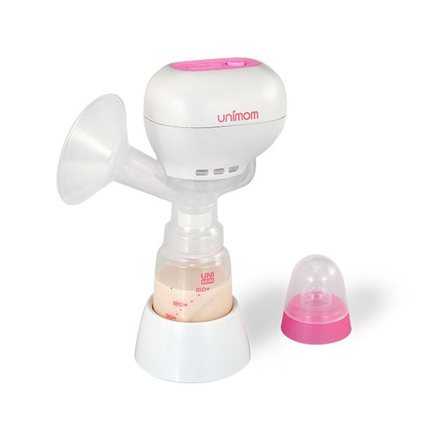 Máy hút sữa điện đơn Unimom K-POP có kèm pin sạc Um871098