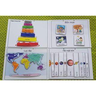 [Hot]Học liệu đồ chơi giáo dục sớm cho bé (CTV)