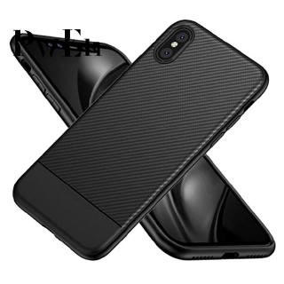 For iPhone X/XR/XS/XS Max Carbon Fiber Full Protection Phone ase
