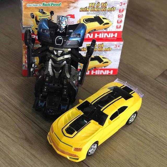 Xe oto robot biến hình