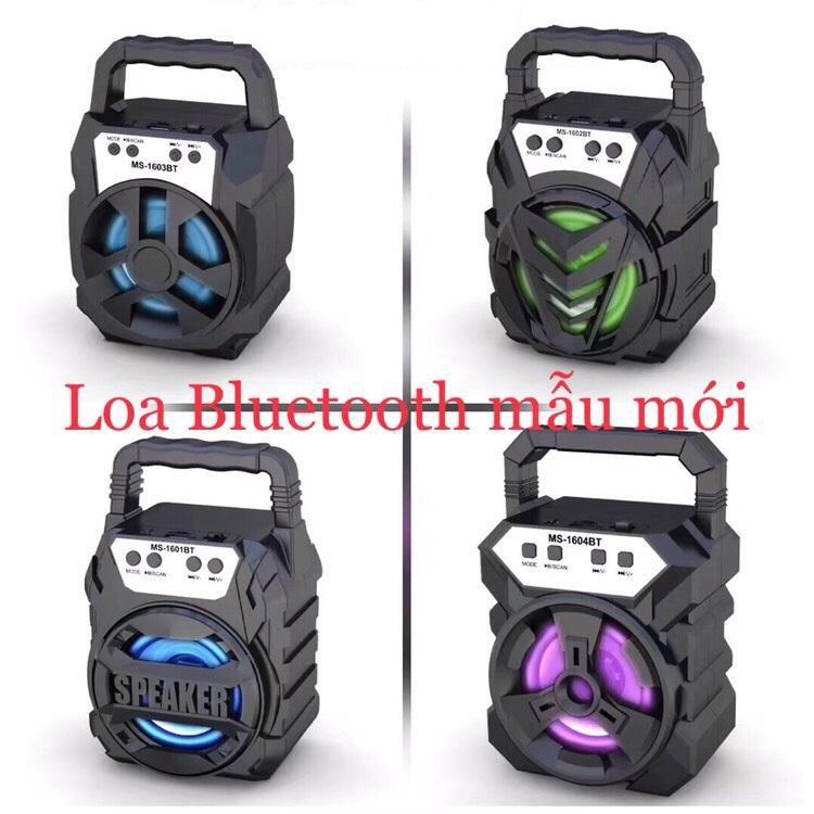 Loa Xách Tay Mini Bluetooth WS 1601 - 1602 - 1603 - 1604 Âm Thanh Siêu Hay - Chuẩn 2019