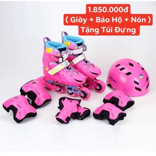Combo giày patin chính hãng NT