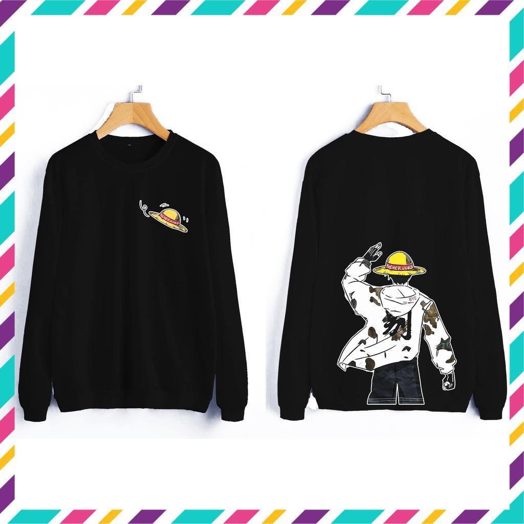 (SALE) (XẢ HÈ) Áo sweater Ace One Piece siêu ngầu giá rẻ