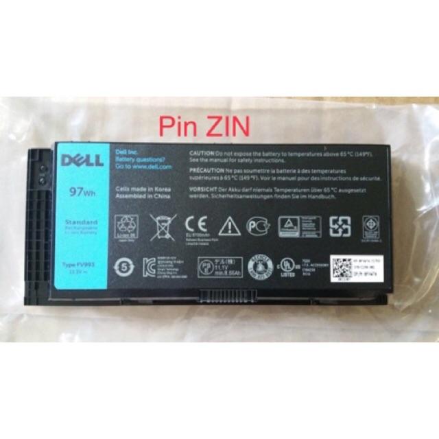 [HCM] Pin Laptop DELL PRECISION M4600 – 9 CELL – Precision M4600 M4700 M4800 M6600 M6700 M6800 [MỚI] Giá chỉ 750.000₫