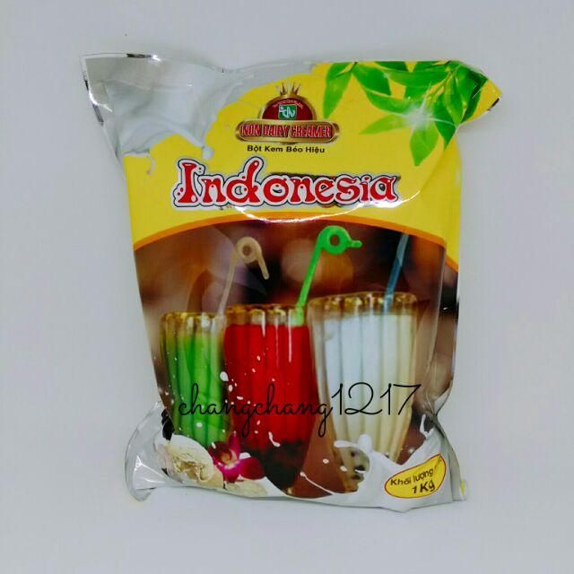 Bột Kem Béo Pha Trà Sữa Indo Indonesia 3 Ly 1kg - 2759431 , 348777804 , 322_348777804 , 70000 , Bot-Kem-Beo-Pha-Tra-Sua-Indo-Indonesia-3-Ly-1kg-322_348777804 , shopee.vn , Bột Kem Béo Pha Trà Sữa Indo Indonesia 3 Ly 1kg