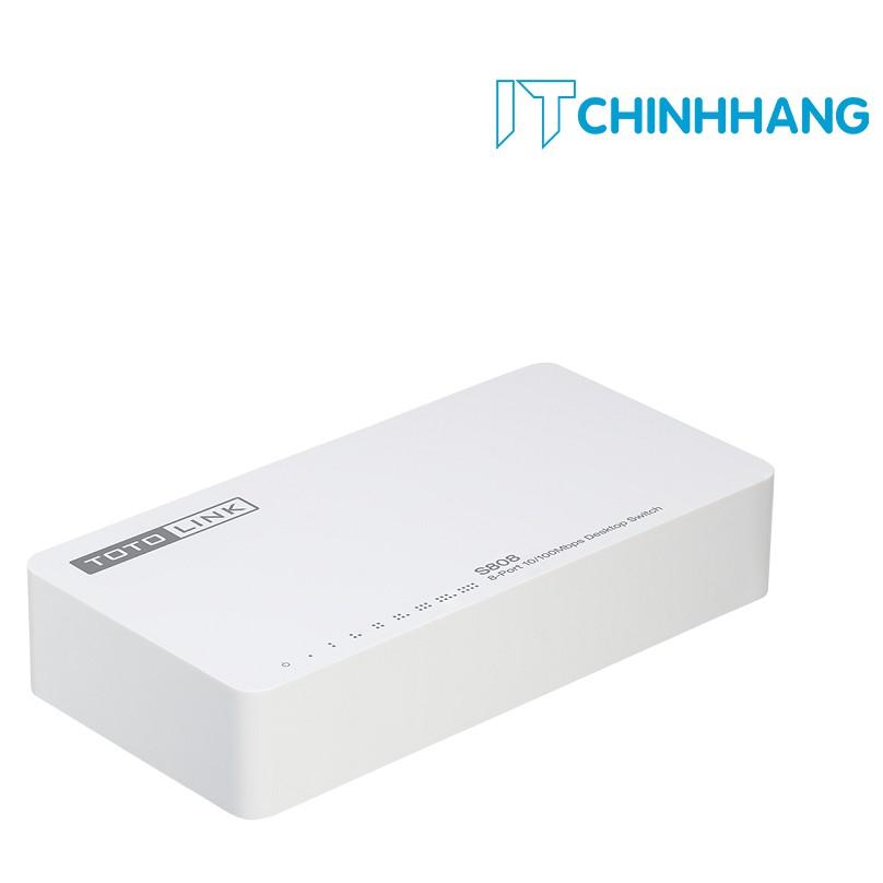 Switch ToToLink S808 / 8-Port 10/100Mbps - HÃNG PHÂN PHỐI CHÍNH THỨC