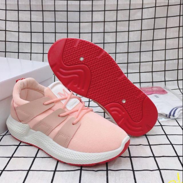 Giày thể thao nữ hồng cam 36-40