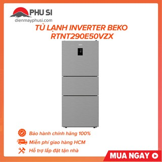 Tủ lạnh Beko RTNT290E50VZX, Inverter (290Lít)