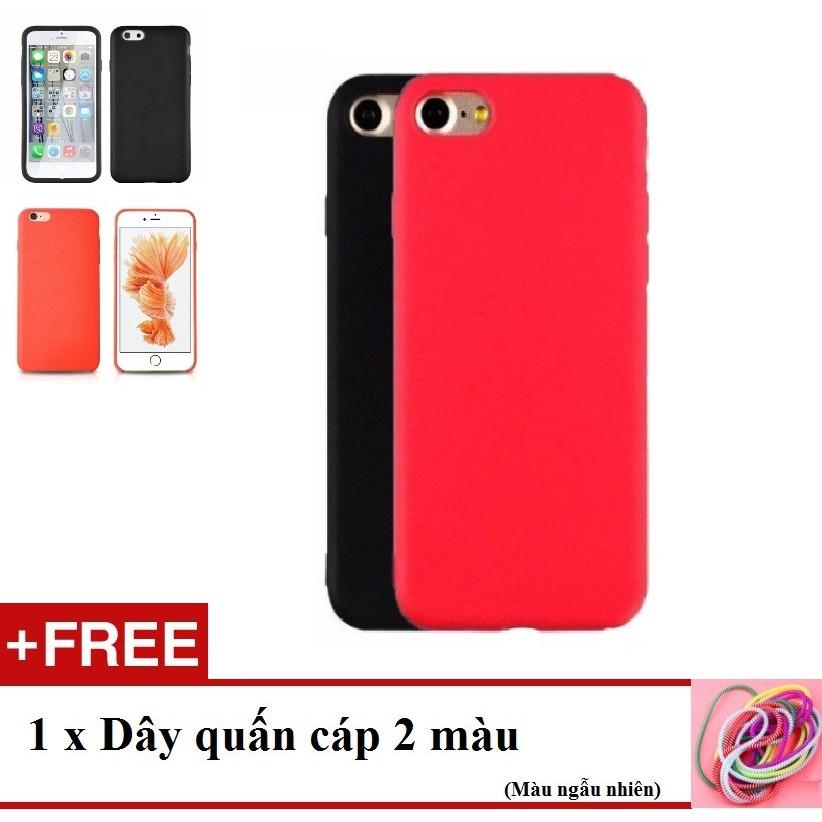 Ốp lưng nhựa dẻo iPhone 6 (Đỏ)