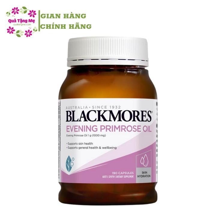 Tinh dầu Hoa Anh Thảo Blackmores Evening Primrose Oil 190 viên