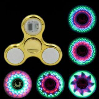 Con quay spinner phát sáng đèn LED 18 kiểu