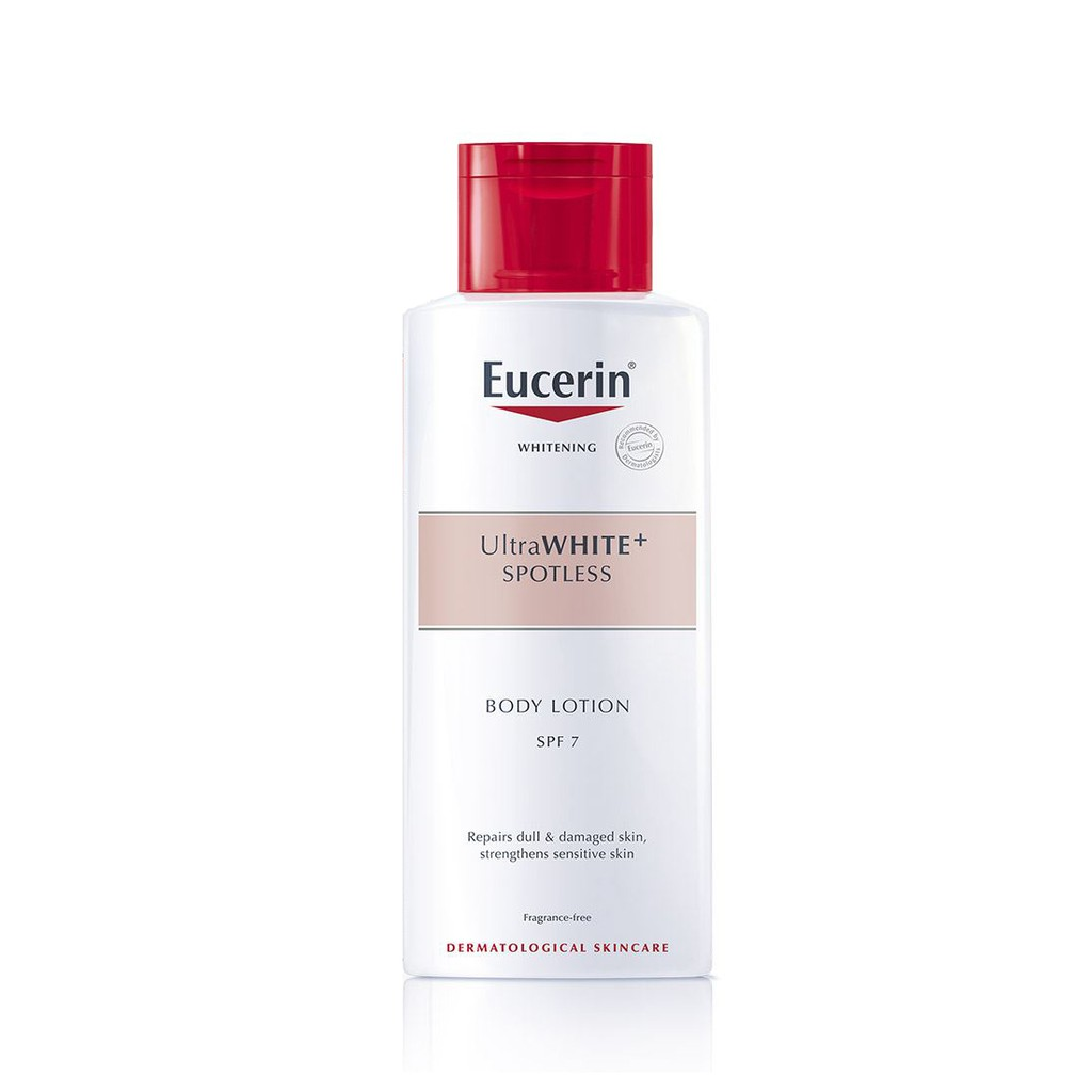 Sữa dưỡng thể trắng da Eucerin UltraWHITE+ Spotless SPF 7 250ml (63044)