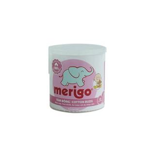 Hộp tăm bông trẻ em Merigo ( 120 cái) thumbnail