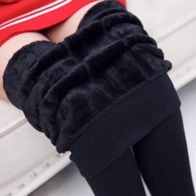 [Cực Hot] Quần legging Lót Lông Siêu Ấm Giá Đẹp