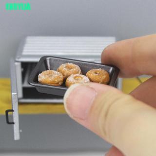 1 Khay Kim Loại Nướng Bánh Mini Cho Nhà Búp Bê Tỉ Lệ 1: 12