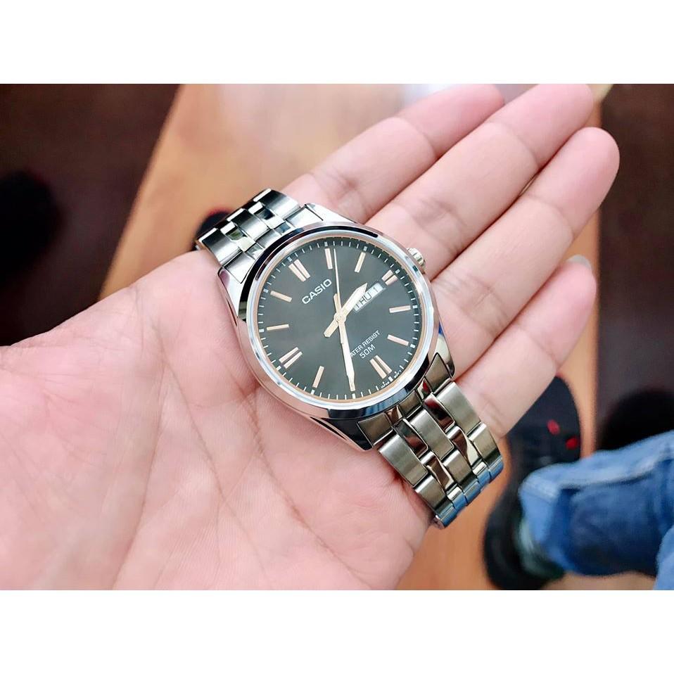 Đồng hồ nam dây kim loại chính hãng Casio Anh Khuê MTP-1335