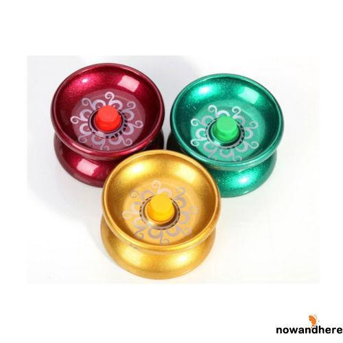 VRO-Aluminum Design Professional Yo-Yo Ball Bearing String Trick Alloy Toy
