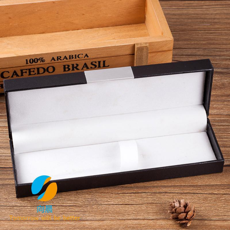 Fashion design simple atmosphere pencil case Pure color paper pen box Business gift wear-resistant stationery storage bo