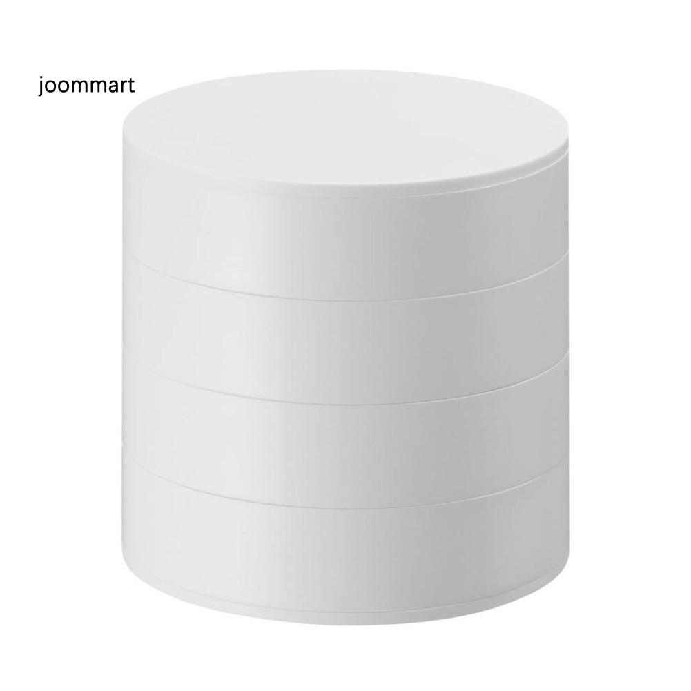 Hộp Đựng Trang Sức 4 Tầng Bằng Nhựa Pp Cao Cấp Tiện Dụng