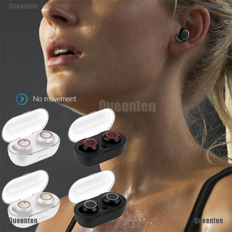 Bộ tai nghe Bluetooth không dây và phụ kiện đi kèm