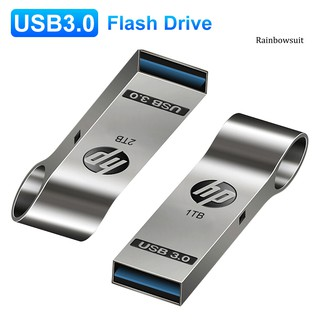 【RB】Portable USB 3.0 1/2TB Large Memory Metal U Disk Data Transmission Flash Drive