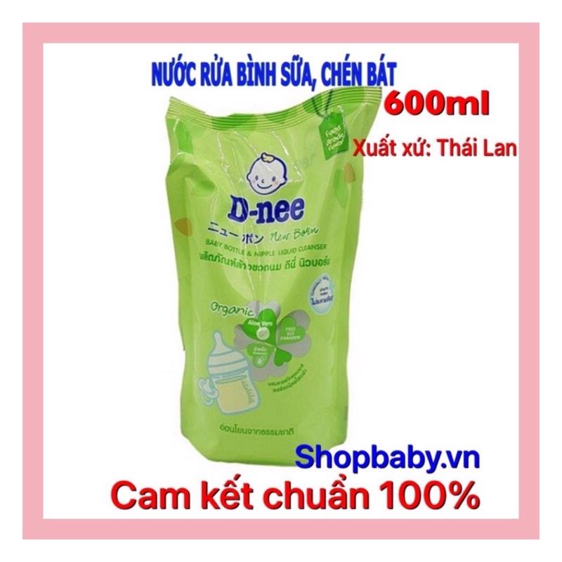 Nước RỬA BÌNH sữa dnee newborn, rửa chén bát và rau quả hữu cơ Organic an toàn cho bé_shopbaby.vn