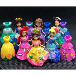 HCM-Bộ 6 công chúa thay váy.