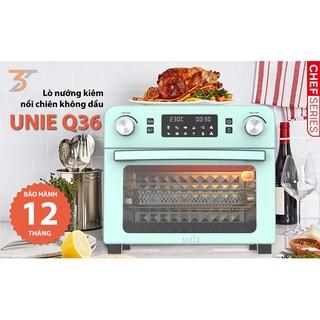Lò nướng kiêm nồi chiên không dầu chính hãng UNIE Q36 – Nữ hoàng của bếp Việt với thiết kế tuyệt đẹp 10 chế độ khác nhau