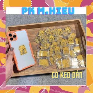 Trâu thần tài – Mèo thần tài mạ vàng 24k để ví, ốp điện thoại MẪU HOT 2021