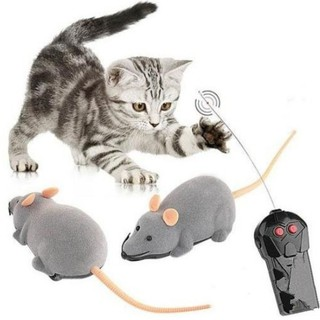 Wireless Remote Control Electronic Rat Mouse Mice Toy
