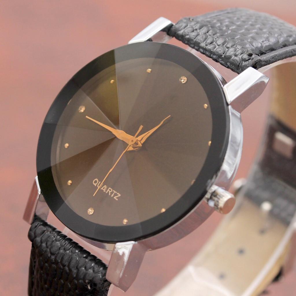Đồng hồ Dotime nam nữ dây da thời trang cao cấp cực đẹp ZO96