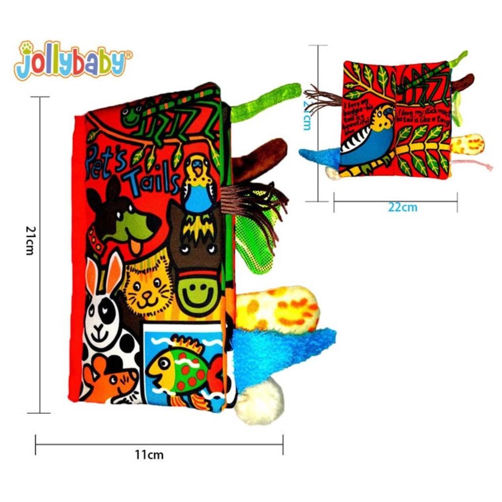 Sách vải Jollybaby Pet