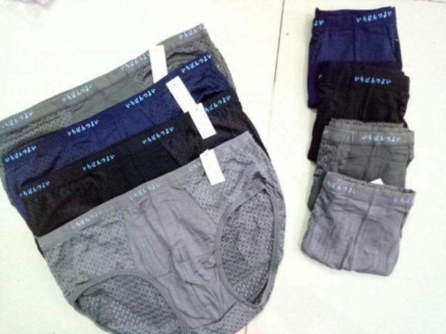 SET 10 quần sịp nam Boxer thông hơi vải mát lạnh thoáng khí-hàng đẹp giá rẻ chất lượng cao