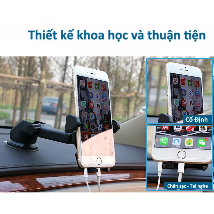 Giá đỡ điện thoại trên ô tô Long Neck an toàn hơn khi lái xe - Giá đỡ điện thoại, kẹp điện thoại trên ô tô, xe hơi