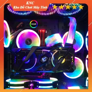 Dây Nguồn Nối Dài Qingsea 24pin 8pin Led RGB Aura Sync Đồng Bộ Mainboard, Đồng Bộ Hub Coomoon RGB