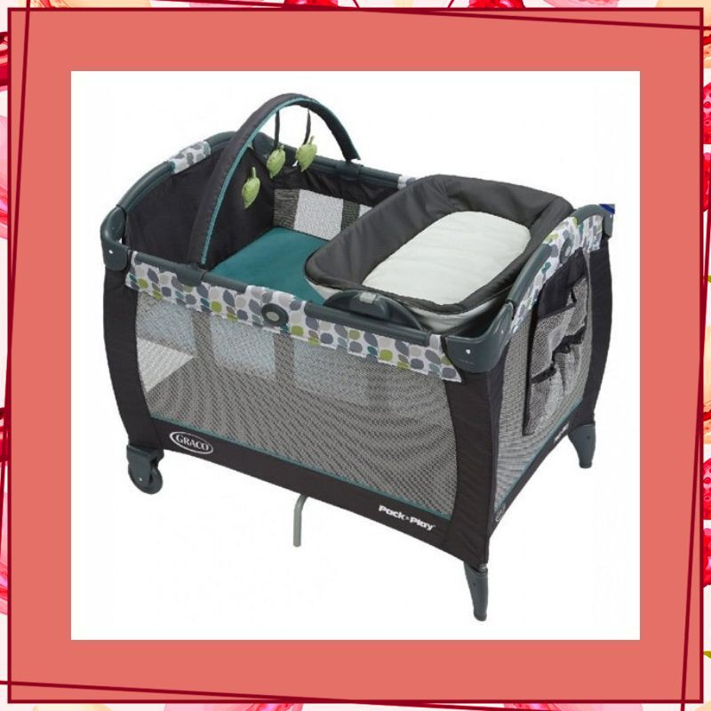 [SALE SIÊU SỐC] Giường cũi trẻ em Graco PNP REV Napper Boden thiết kế thông minh