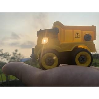 xe đồ chơi xây dựng lắp ghép. Nhựa ABS an toàn. Hàng đẹp không ọp ẹp. đồ chơi trẻ em sáng tạo rèn tư duy logic cho bé 5