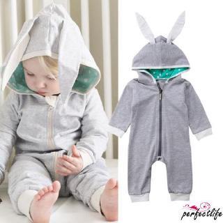 ★HZLNewborn Baby Kid Boy Girl Cute Rabbit Romper Jumpsuit Bodysuit Outfits Clothes