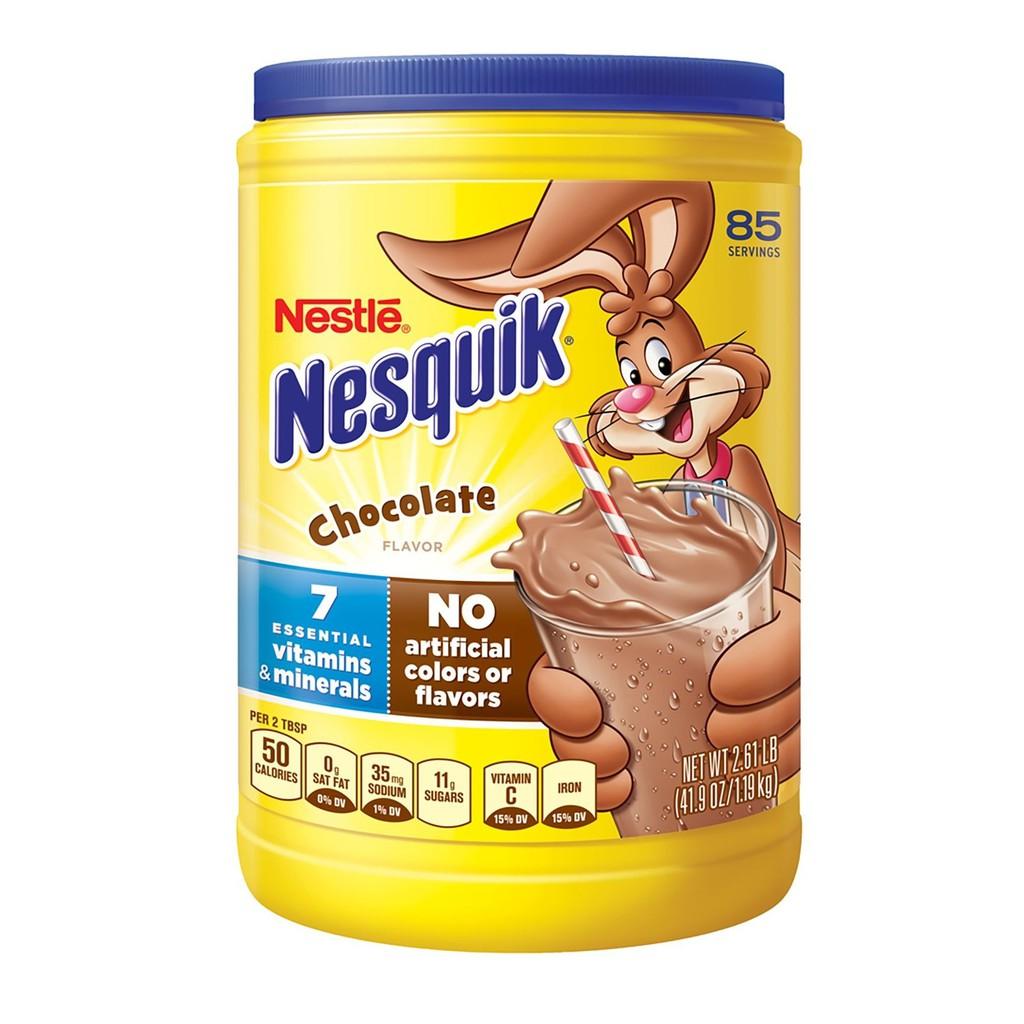 Bột cacao Nesquik 1.19kg