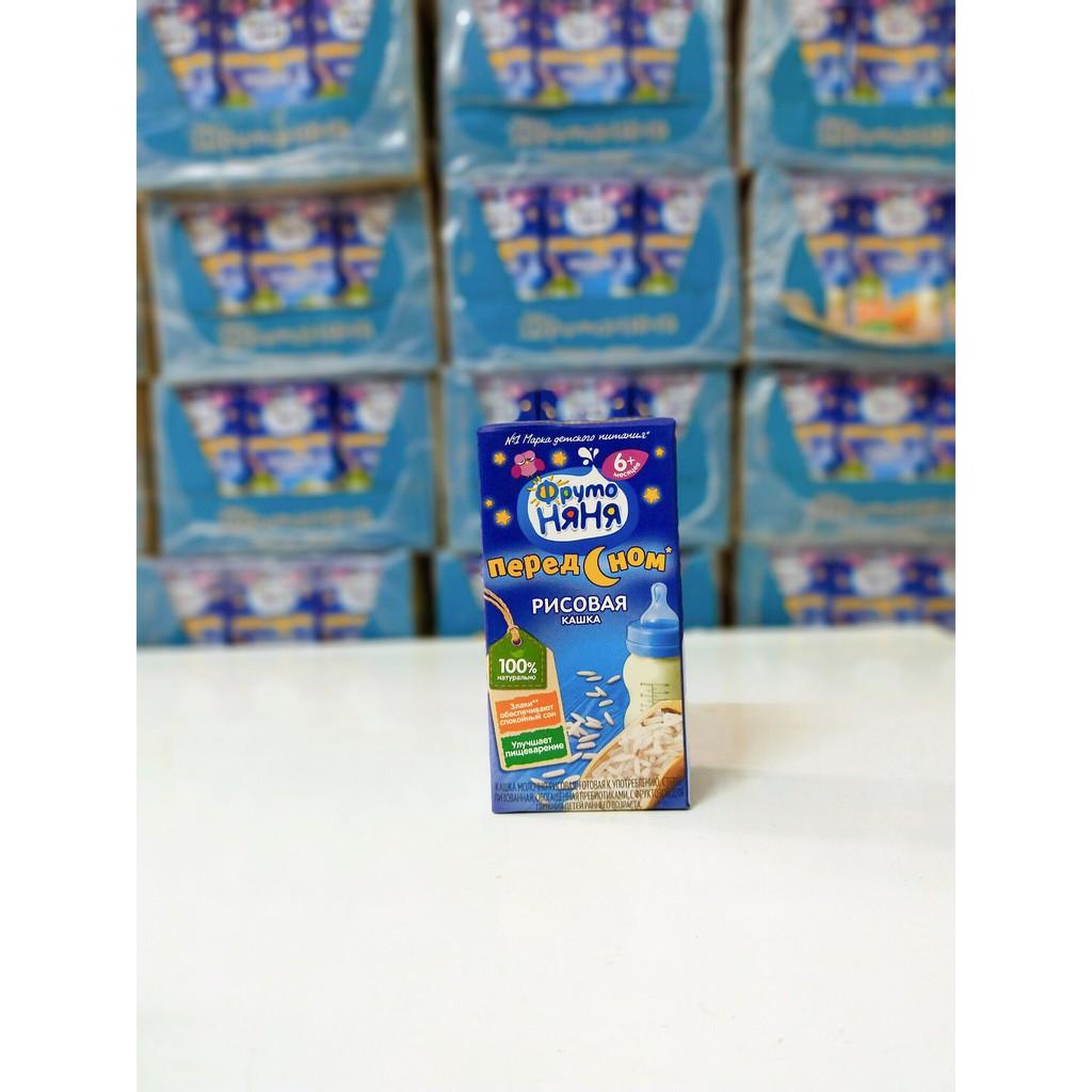 Sữa đêm/ngày fruto (hộp 200ml) 6m+ 12m+ Date  tháng 11.2021