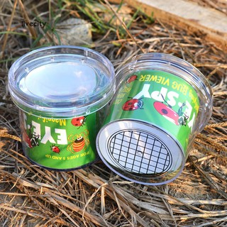 Insect Observation Magnifier Box Cup Spectator Experiment Education Kids Toy