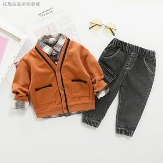 Set trang phục phong cách phương Tây thời trang cho bé trai