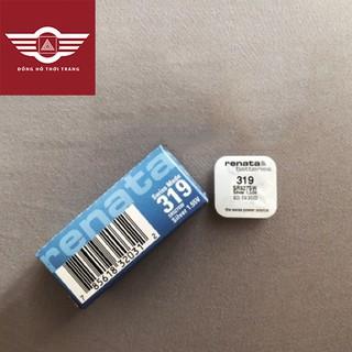 Viên pin đồng hồ Renata chính hãng Thụy Sĩ 527 SR527SW 319 vỉ 1 viên thumbnail