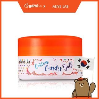 Bông Làm Sạch Da Mặt Và Mụn Đầu Đen Alive Lab Cotton Candy Ball thumbnail