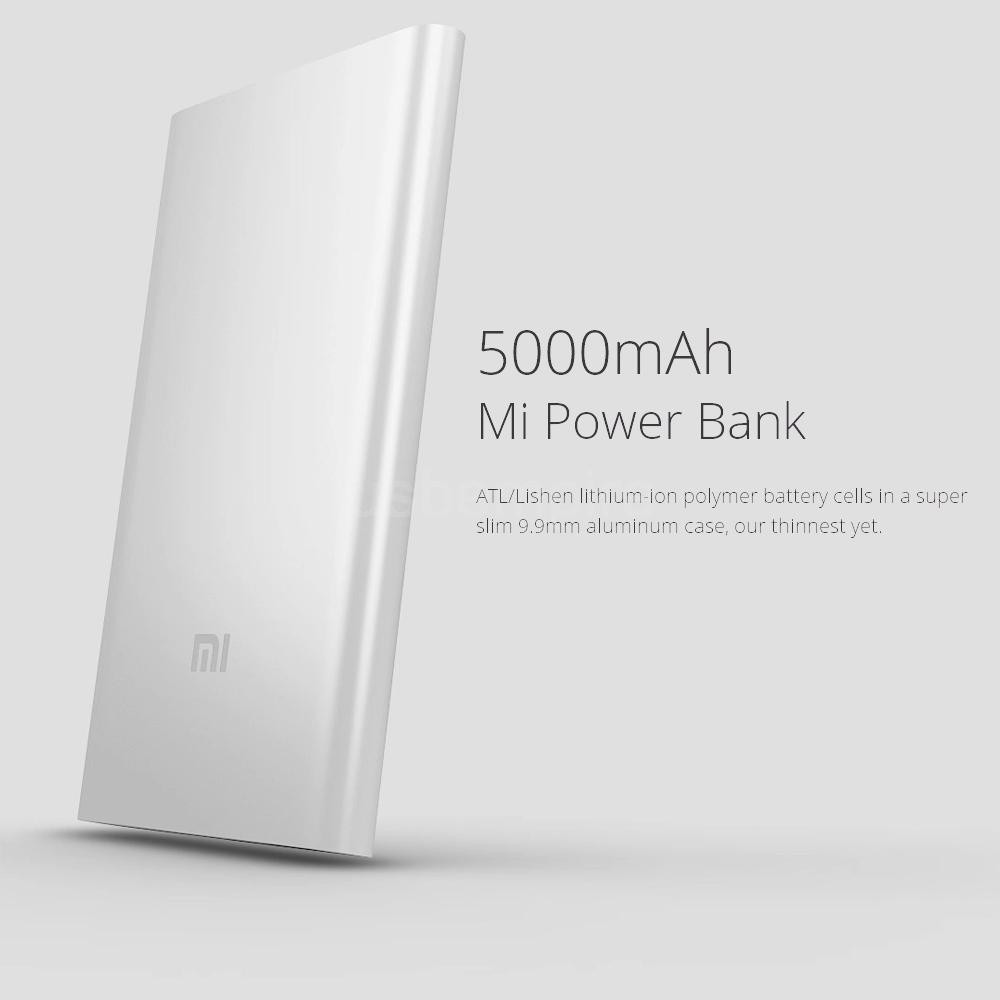 Sạc Dự Phòng Xiaomi Mi PowerBank 5000mAh
