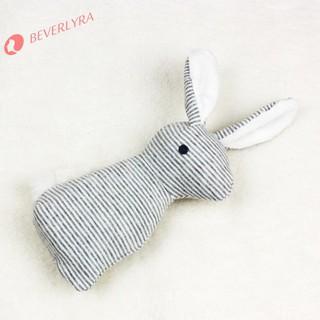 ✿bv✿Plush Long Ear Rabbit Baby Rattle Toys Hand Bells with BB Soundღiღ