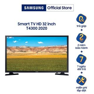 """[Mã SAMAPR giảm 5% đơn 4TR5] Smart Tivi LED SAMSUNG 32 Inch UA32T4300AKXXV - Miễn phí lắp đặt giá chỉ còn <strong class=""""price"""">523.000.000.000đ</strong>"""