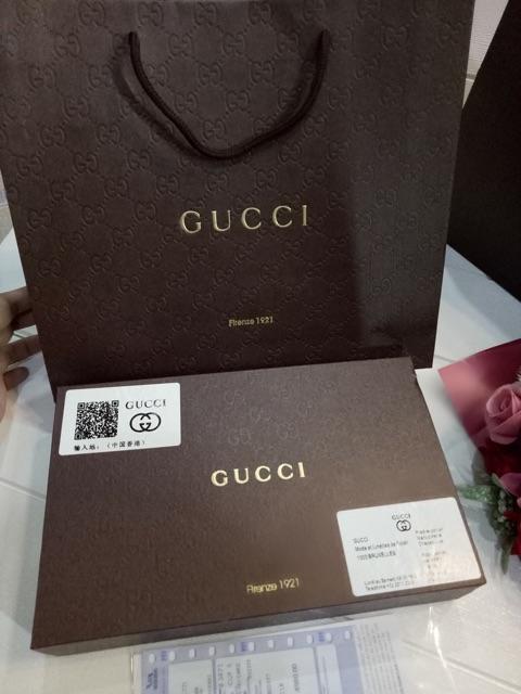 Bộ dây lưng Gucci 2 mặt vàng, đen fullbox kèm túi giấy