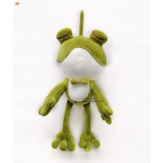 [RẺ NHẤT]Gấu Oenpe ếch đeo nơ xanh, chất liệu bông cao cấp 3 chiều