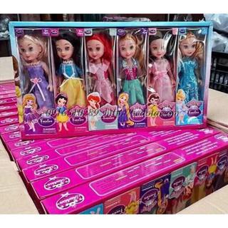 Hộp 6 búp bê công chúa